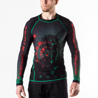 Fusion FG Star Trek The Borg Drone Rashguard now available at Www.thejiujitsushop.com Front of the rashguard shows the borg drone from the next generation.   Enjoy Free Shipping from The Jiu Jitsu Shop today! Nerd out with us and let's roll!