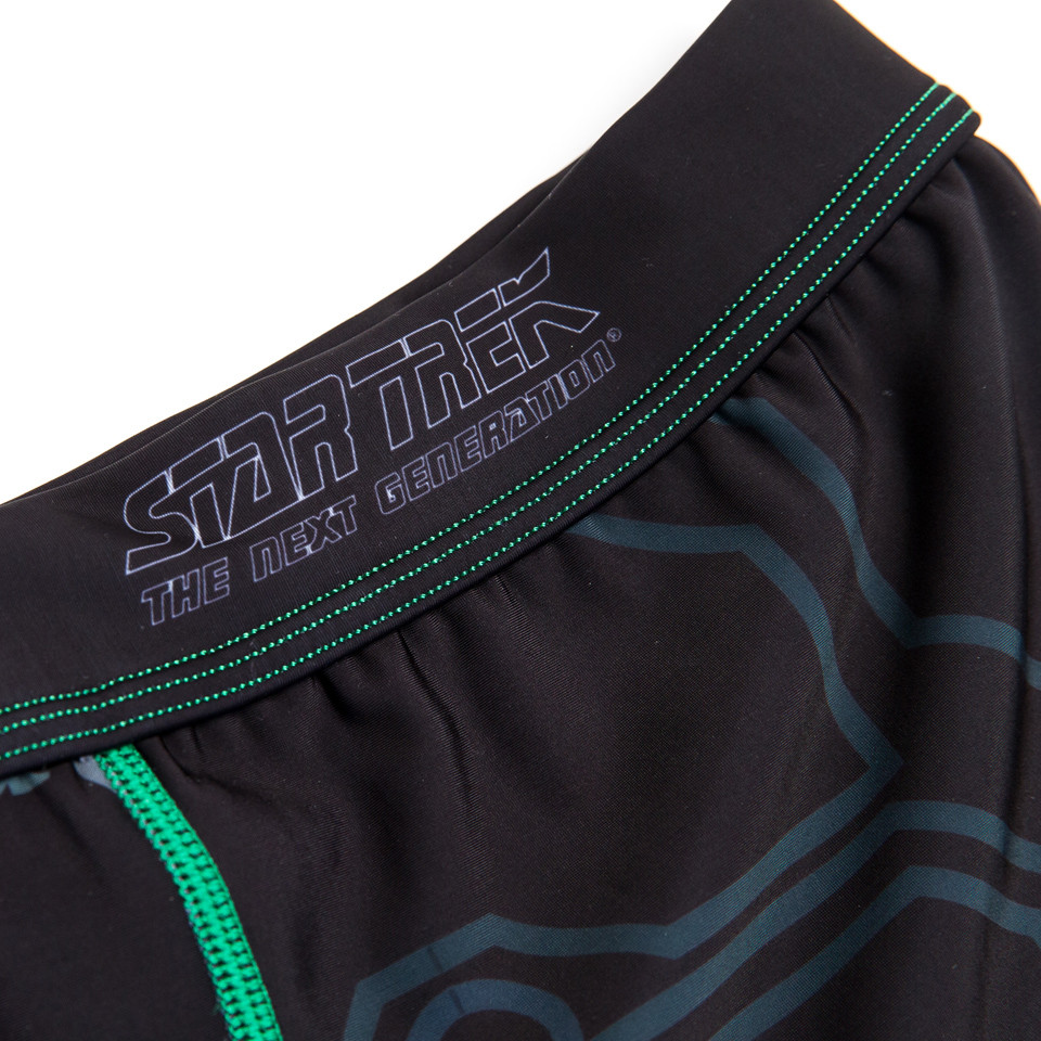Fusion FG Star Trek The Borg Assimilation Spats. Inside the spats for better angle. Assimilate now, resistance is futile.  Available at www.thejiujitsushop.com  Enjoy Free Shipping from The Jiu Jitsu Shop today!