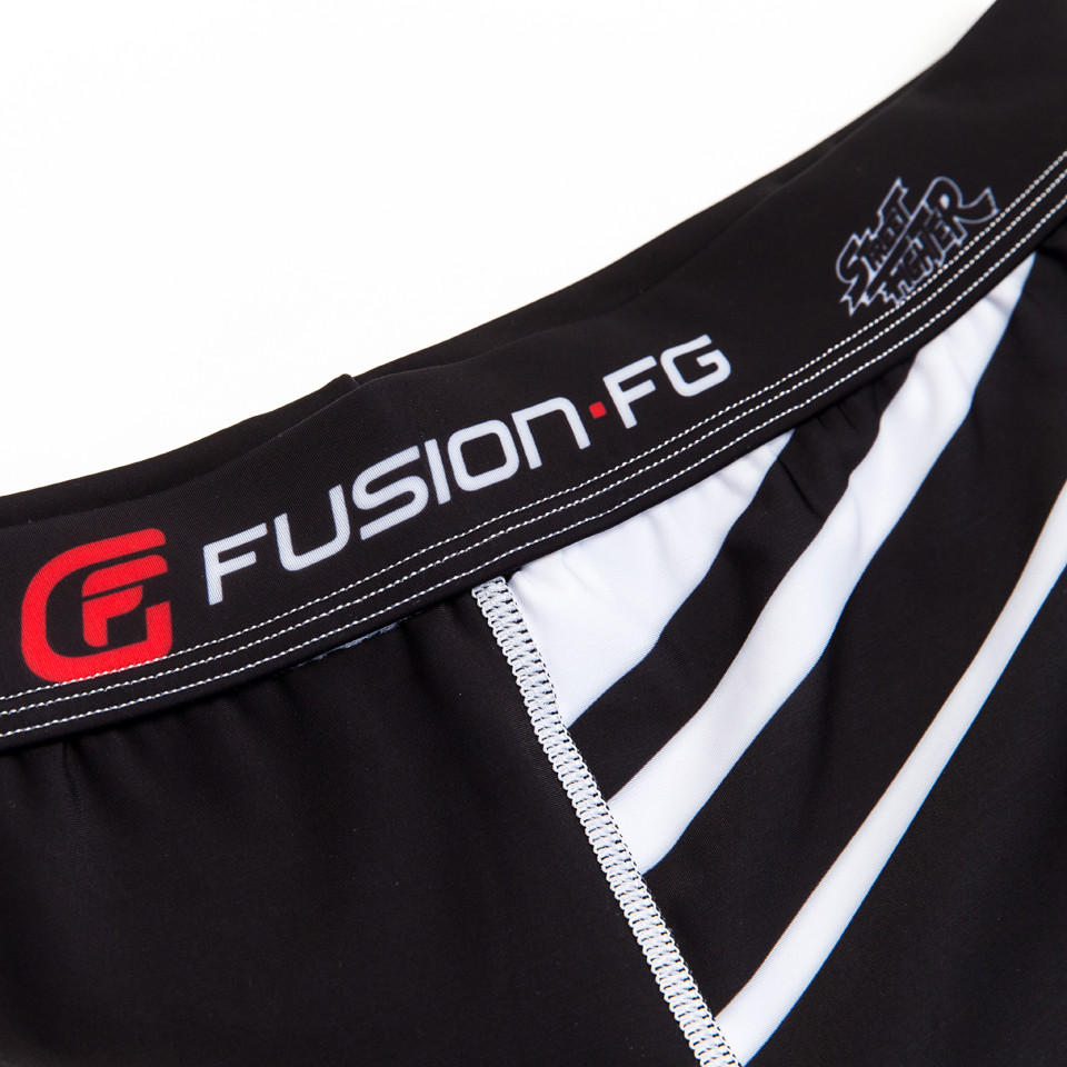 Fusion FG Street Fighter Ryu Spats now available At www.thejiujitsushop.com These spats feature Ryu Tying his red Hachimaki and getting ready to beat anyone up  Enjoy Free Shipping at The Jiu Jitsu Shop. Street Fighter Gear for all walks of life