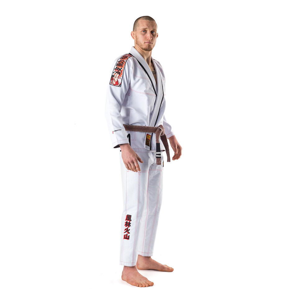 Fusion FG Street Fighter Ryu Hadoken Jiu Jitsu Gi now available at www.thejiujitsushop.com Fully licensed BJJ Kimono licensed by Capcom and approved by Ryu.    Enjoy Free Shipping with this one of a kind kimono.  Grab all your street fighter apparel at The Jiu Jitsu Shop today!