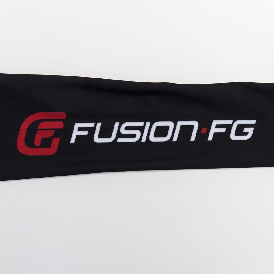 Fusion FG Top gun logo on Rashguard available at www.thejiujitsushop.com