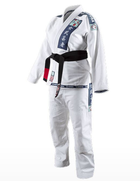 Hayabusa Shinju Pearl Weave Female BJJ Gi in White Available at www.thejiujitsushop.com Perfect fit for women specifically designed for your body.   Enjoy Free Shipping from The Jiu Jitsu Shop today! Hayabusa Female Gi now in stock