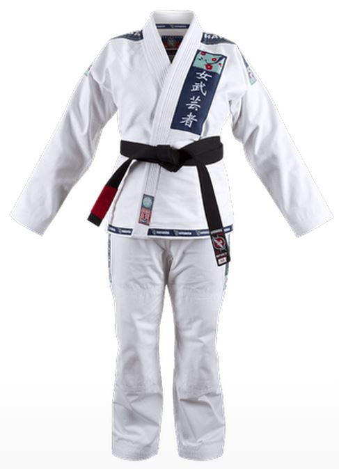 Hayabusa Female Jiu Jitsu Gi in White available at www.thejiujitsushop.com.  Enjoy Free Shipping from The Jiu Jitsu Shop today!  Storewide free shipping and top customer service!