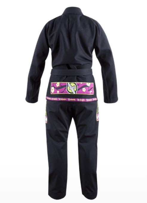 Back of the Hayabusa Shinju Female Kimono in Black which is now available at www.thejiujitsushop.com.  Best Female BJJ Gi on the market toady. Let's roll  Enjoy Free Shipping from The Jiu Jitsu Shop today!