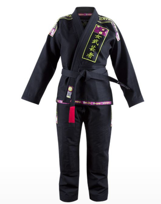 Hayabusa Female Jiu Jitsu Gi in Black available at www.thejiujitsushop.com.  Enjoy Free Shipping from The Jiu Jitsu Shop today!  Storewide free shipping and top customer service!