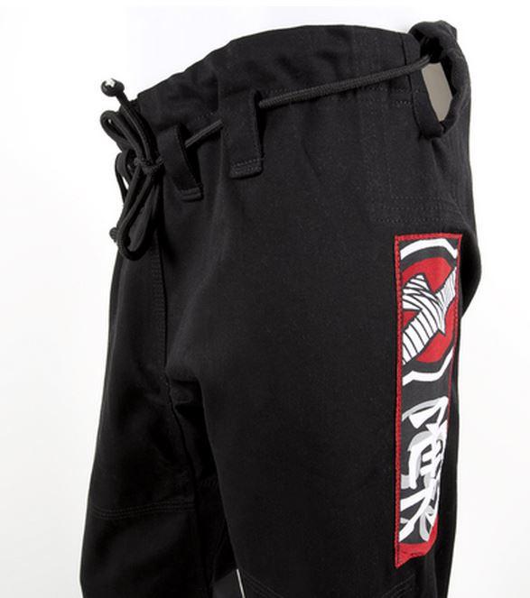 Hayabusa Goorudo Black Pants for the Goorudo 2.0 available at www.thejiujtisushop.com   Enjoy Free Shipping from The Jiu Jitsu Shop today!