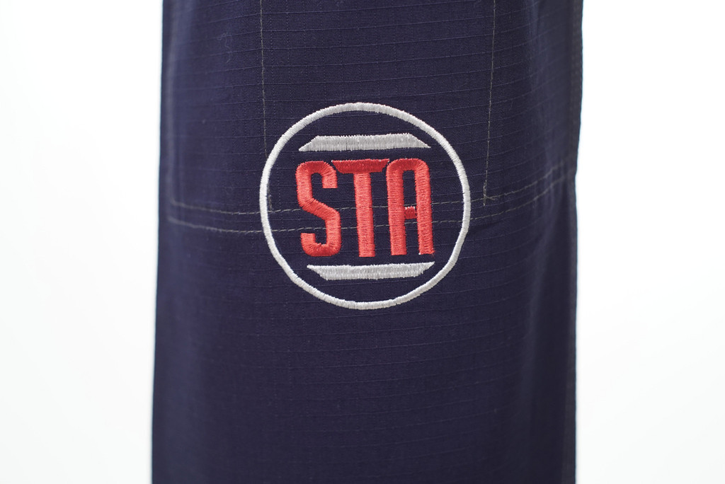 Show the art pant logo on the inverted gear X Show the Art gi.  Now available at www.thejiujitsushop.com  Enjoy Free Shipping today.