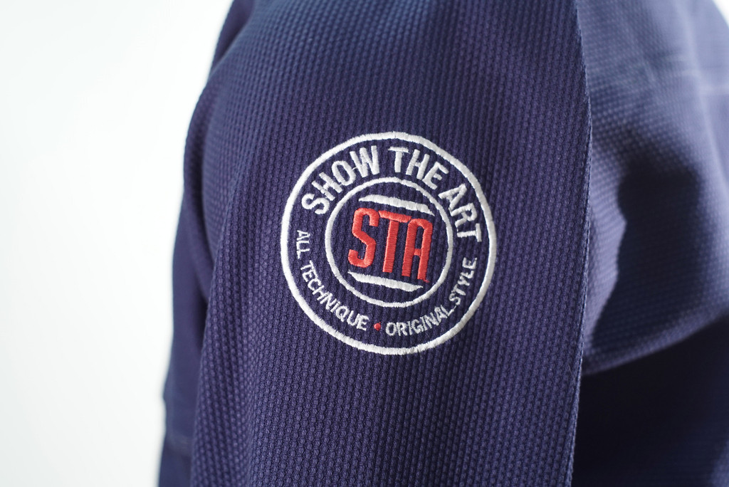 Inverted Gear X Show the art shoulder patch.  Available at www.thejiujitsushop.com