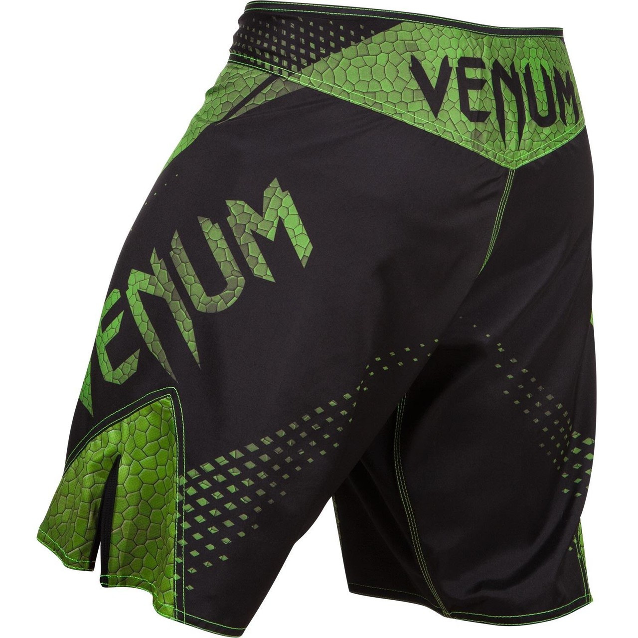Back View Venum Hurricane Fightshorts Amazonia Green MMA Shorts now available at www.thejiujitsushop.com  Top MMA and Grappling Shorts  Enjoy Free Shipping from The Jiu Jitsu Shop today!