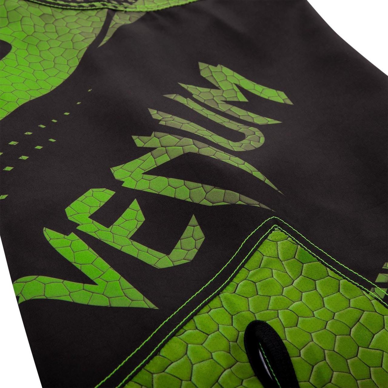 Short legs of the new Venum Hurricane Fightshorts Amazonia Green MMA Shorts now available at www.thejiujitsushop.com  Top MMA and Grappling Shorts  Enjoy Free Shipping from The Jiu Jitsu Shop today!