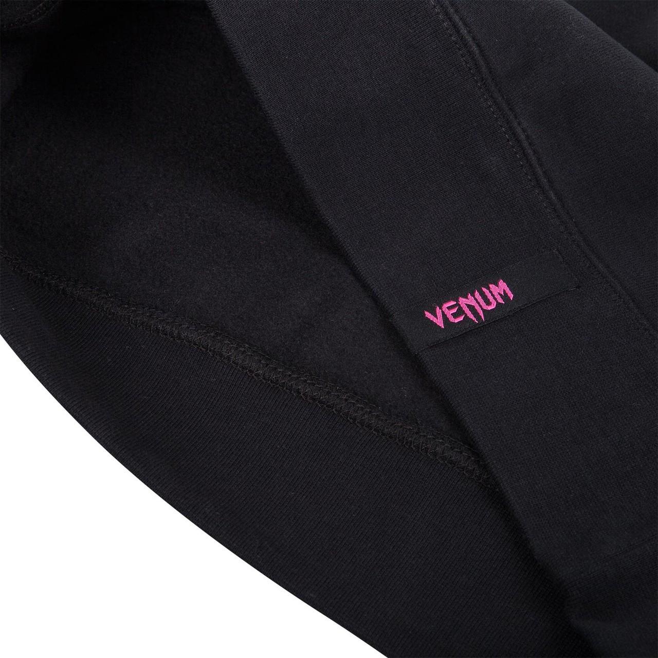 Venum Infinity Hoody - Black/Pink now available at www.thejiujitsushop.com  Free Shipping from The Jiu Jitsu Shop.