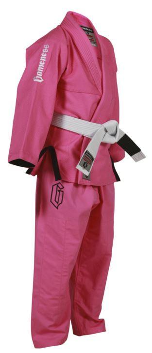 Gameness Kids Air Gi - Pink Available at www.thejiujitsushop.com  Enjoy Free Shipping from The Jiu Jitsu Shop