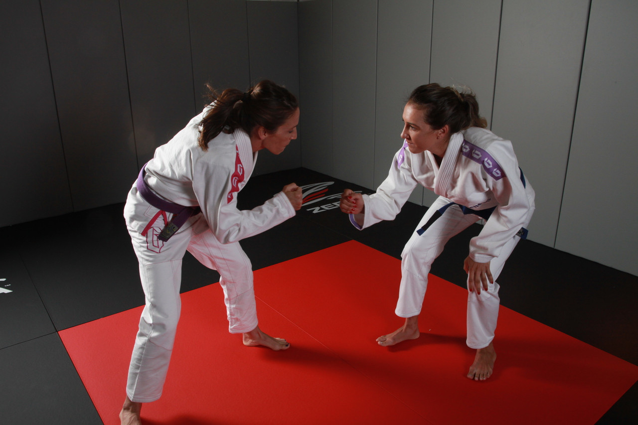 2015 Gameness Female Pearl Weave Gi.  Available in Pink or violet accents.  Sold at www.thejiujitsushop.com  Free Shipping on all gameness products from The Jiu Jitsu Shop.