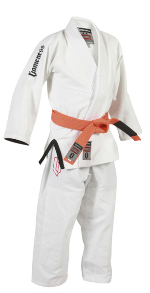 Gameness youth air brazilian jiu jitsu gi.  Available at www.thejiujitsushop.com   Free shipping on all kimonos.