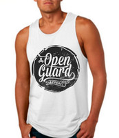 OGA Circle Flow Tank available at www.thejiujitsushop.com or www.openguardapparel.com