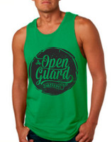 OGA Circle Flow Tank available in Green and Black at www.thejiujitsushop.com or www.openguardapparel.com