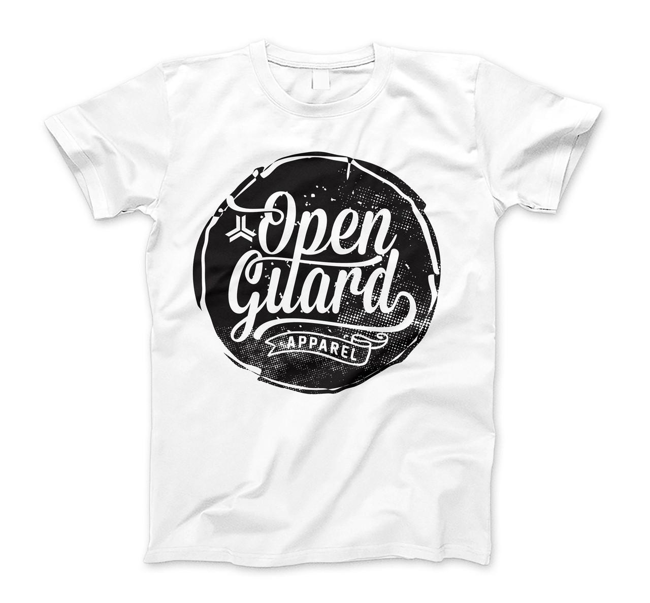 Open Guard Apparel Circle Flow T-Shirt available at www.thejiujitsushop.com or www.openguardapparel.com