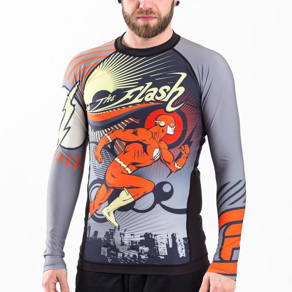 Fusion FG The Flash Running Man rashguard available at www.thejiujitsushop.com   Enjoy Free Shipping from The Jiu Jitsu Shop today!