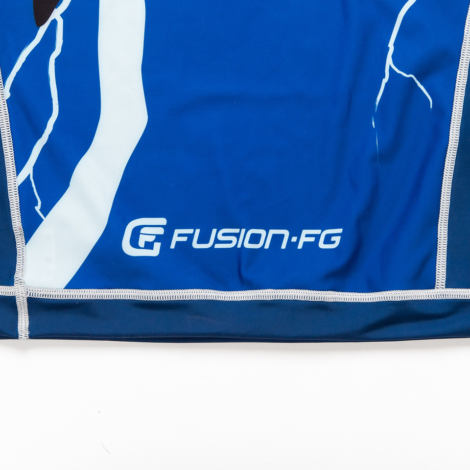Fusion FG Batman The Dark Knight Returns Cover Rashguard.  Available at www.thejiujitsushop.com  Enjoy Free Shipping from The Jiu Jitsu Shop today.