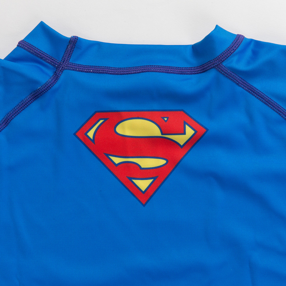 Back of the Superman Rashguard.   Enjoy Free Shipping from The Jiu Jitsu Shop