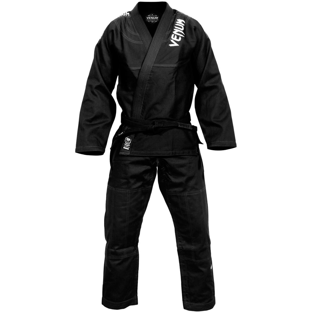 Venum challenger 3.0 BJJ Gi Black/Grey Available at www.thejiujitsushop.com  Enjoy Free Shipping from The Jiu Jitsu Shop today!