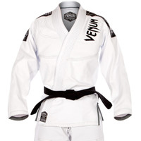 Venum challenger 3.0 BJJ Gi White/Grey Available at www.thejiujitsushop.com  Enjoy Free Shipping from The Jiu Jitsu Shop today!