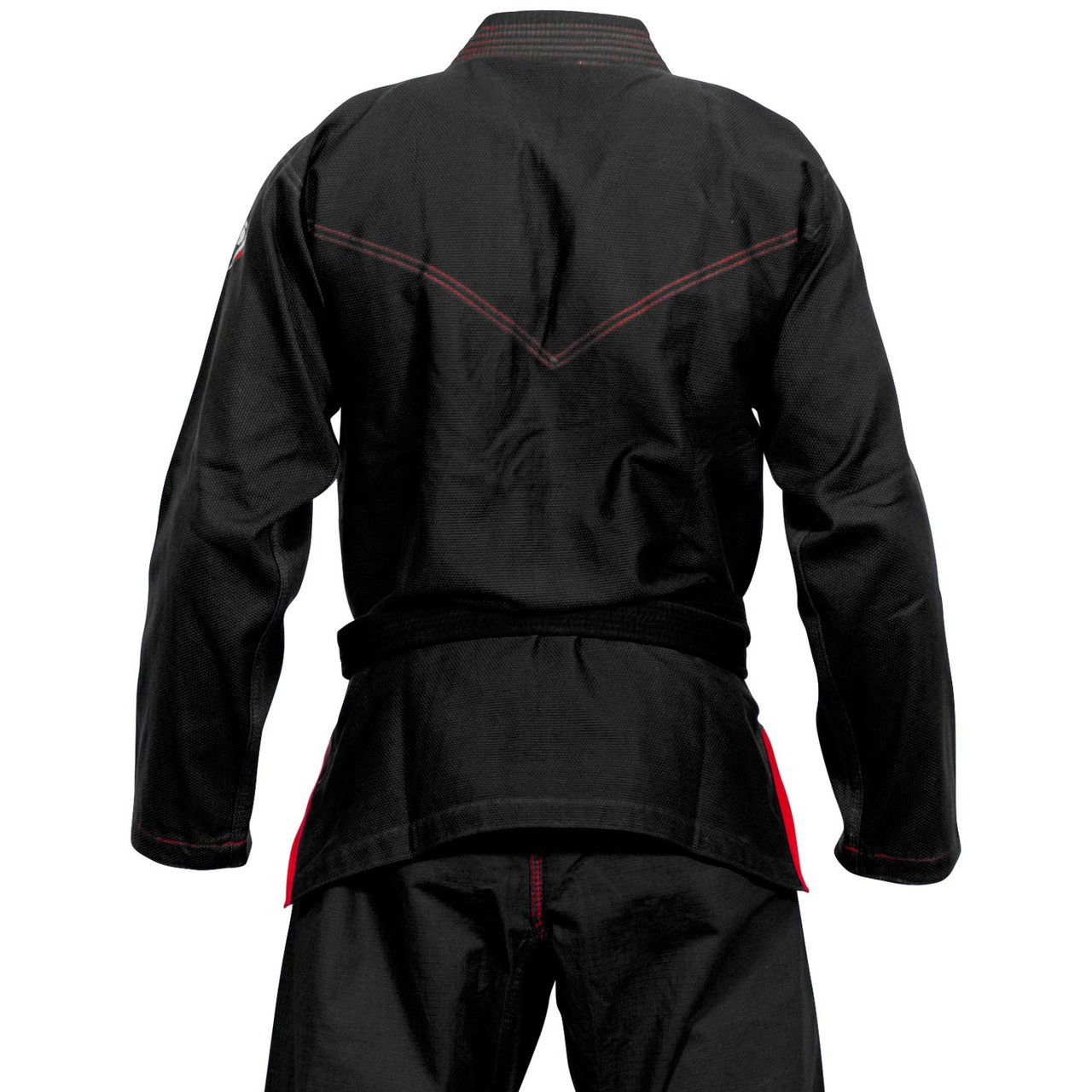 Back of the Venum Elite Light BJJ GI in Black is now available at www.thejiujitsushop.com  Enjoy Free Shipping from The Jiu Jitsu Shop today!