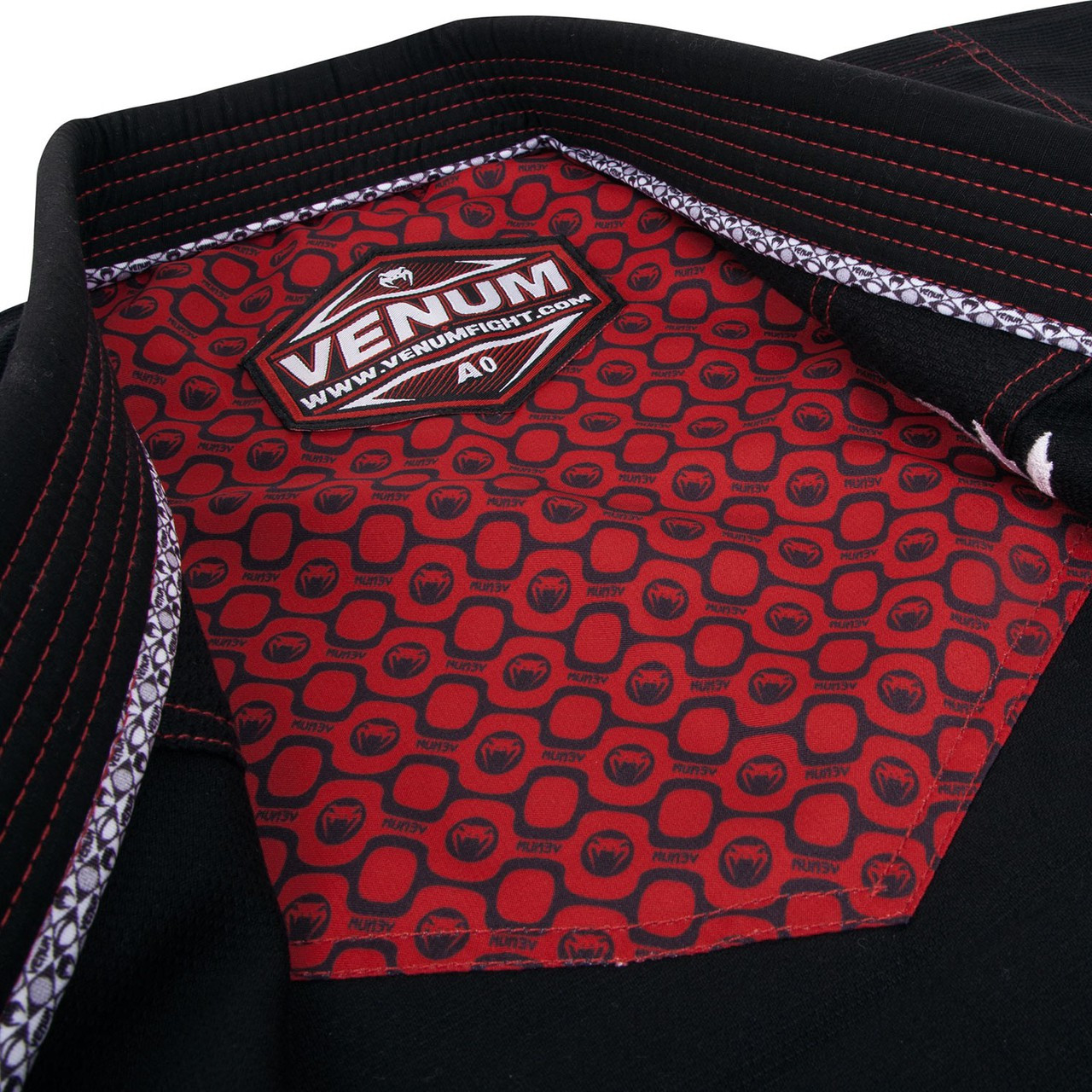 Gi jacket top Venum Elite Light BJJ GI in Black is now available at www.thejiujitsushop.com  Enjoy Free Shipping from The Jiu Jitsu Shop today!
