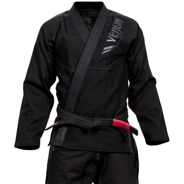 Venum Elite BJJ GI in Black on black  is now available at www.thejiujitsushop.com  Enjoy Free Shipping from The Jiu Jitsu Shop today!