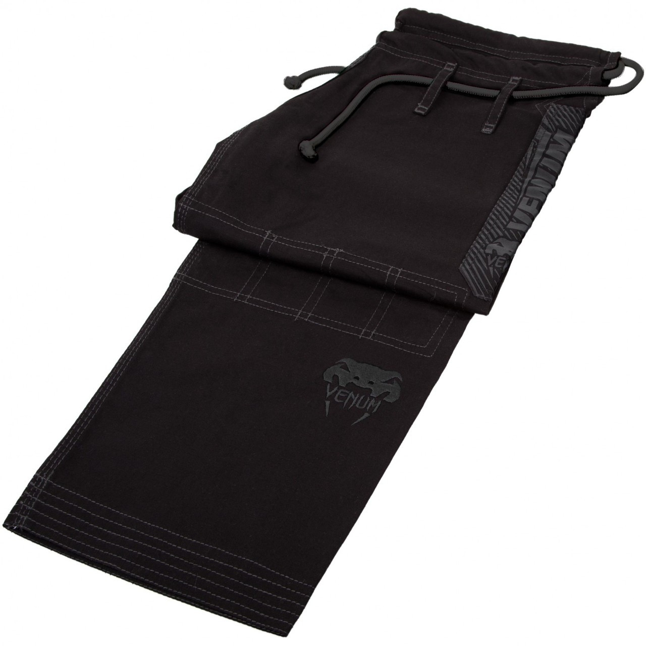 PAnts of the Venum Elite BJJ GI in Black on black  is now available at www.thejiujitsushop.com  Enjoy Free Shipping from The Jiu Jitsu Shop today!