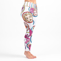 Fusion FG She-Ra Women's Leggings (Spats) Available now at www.thejiujitsushop.com  Enjoy Free Shipping on these sweet Spats at The Jiu Jitsu Shop