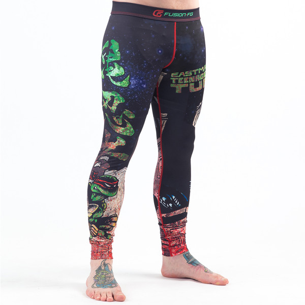 Fusion FG Teenage Mutant Ninja Turtles Book One Spats available at www.thejiujitsushop.com  Enjoy Free Shipping from The Jiu Jitsu Shop today!