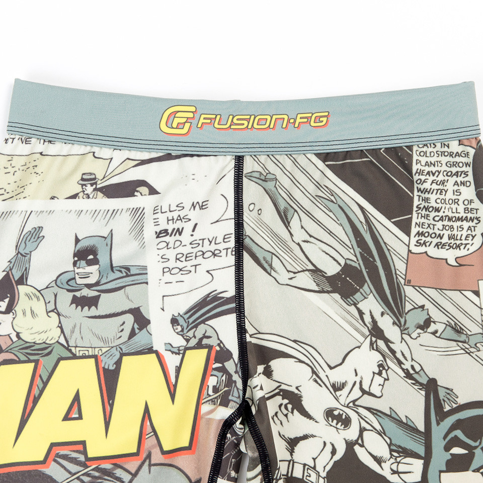 zoom into the comic books of the batman comic book spats