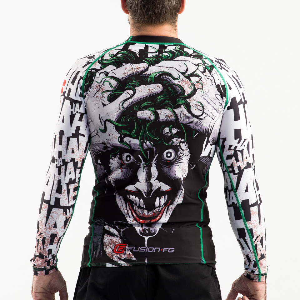 Back view of Fusion FG Batman The Killing Joke is available at www.thejiujitsushop.com  Enjoy Free Shipping from The Jiu Jitsu Shop today!