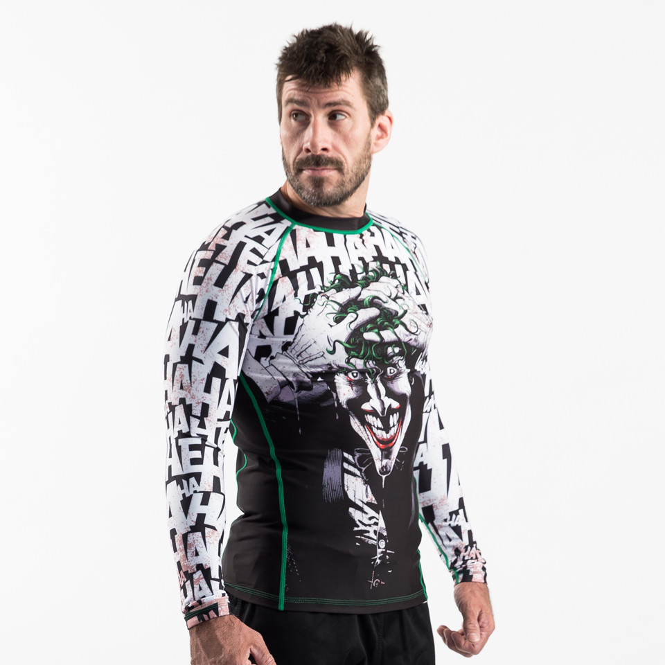 Model picture of the Fusion FG Batman The Killing Joke is available at www.thejiujitsushop.com  Enjoy Free Shipping from The Jiu Jitsu Shop today!