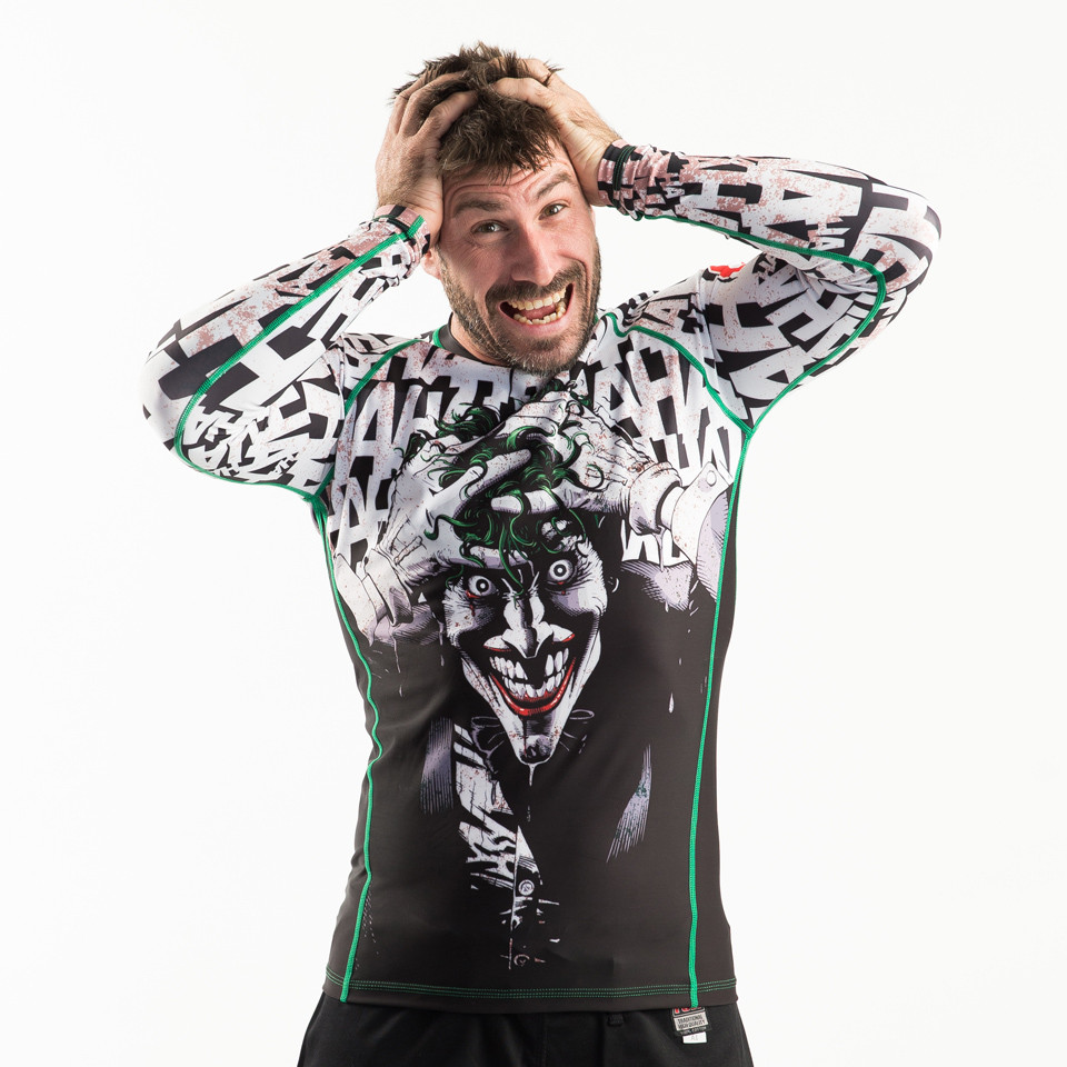 Going nutty with the new Fusion FG Batman The Killing Joke is available at www.thejiujitsushop.com  Enjoy Free Shipping from The Jiu Jitsu Shop today!