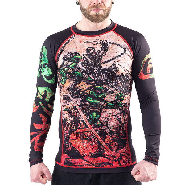 Fusion FG Teenage Mutant Ninja turtle Rashguard available at www.thejiujitsushop.com  Enjoy Free Shipping from The Jiu Jitsu Shop today!