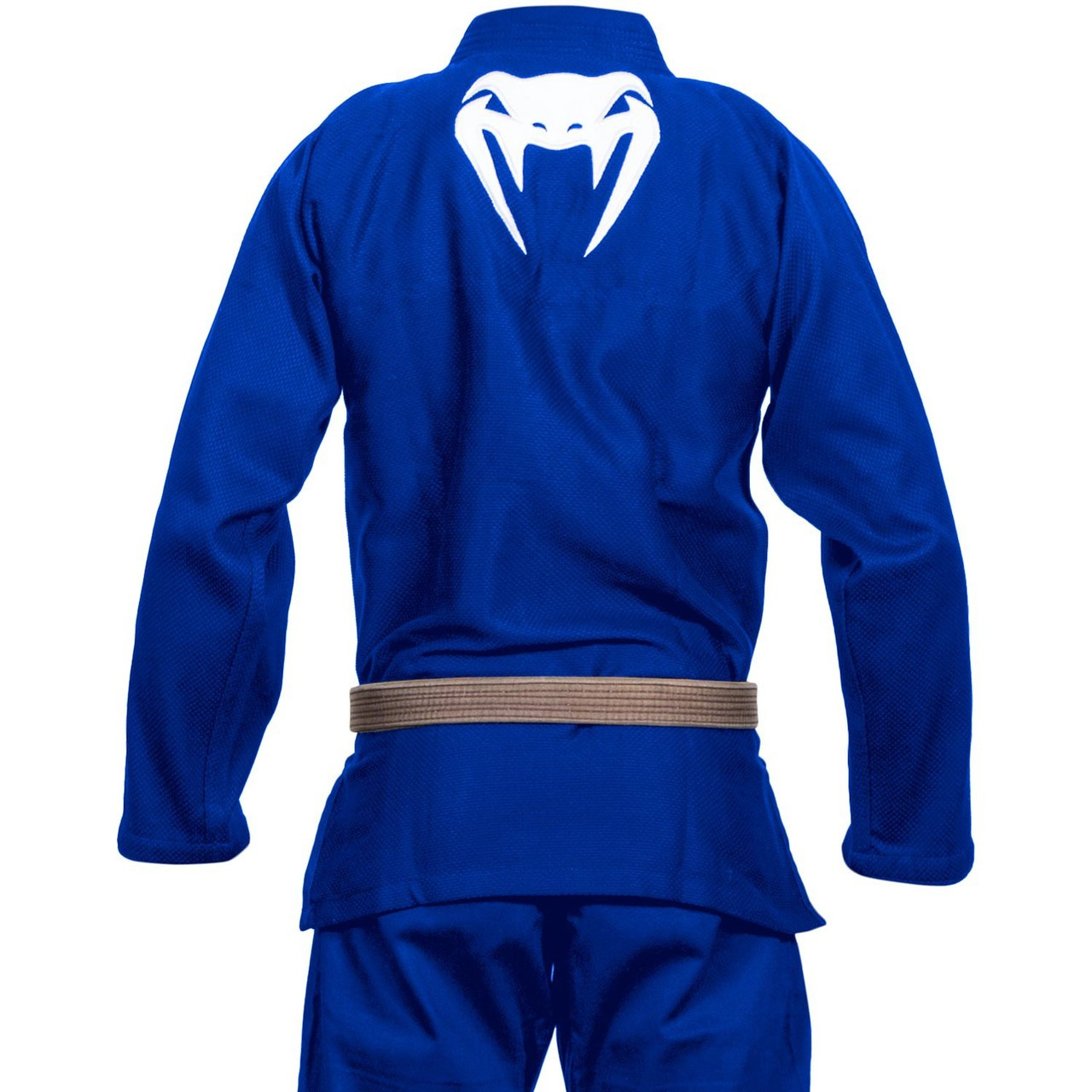 Back of the Venum Contender 2.0 Blue BJJ GI available at www.thejiujitsushop.com  Enjoy Free Shipping from The Jiu Jitsu Shop today!