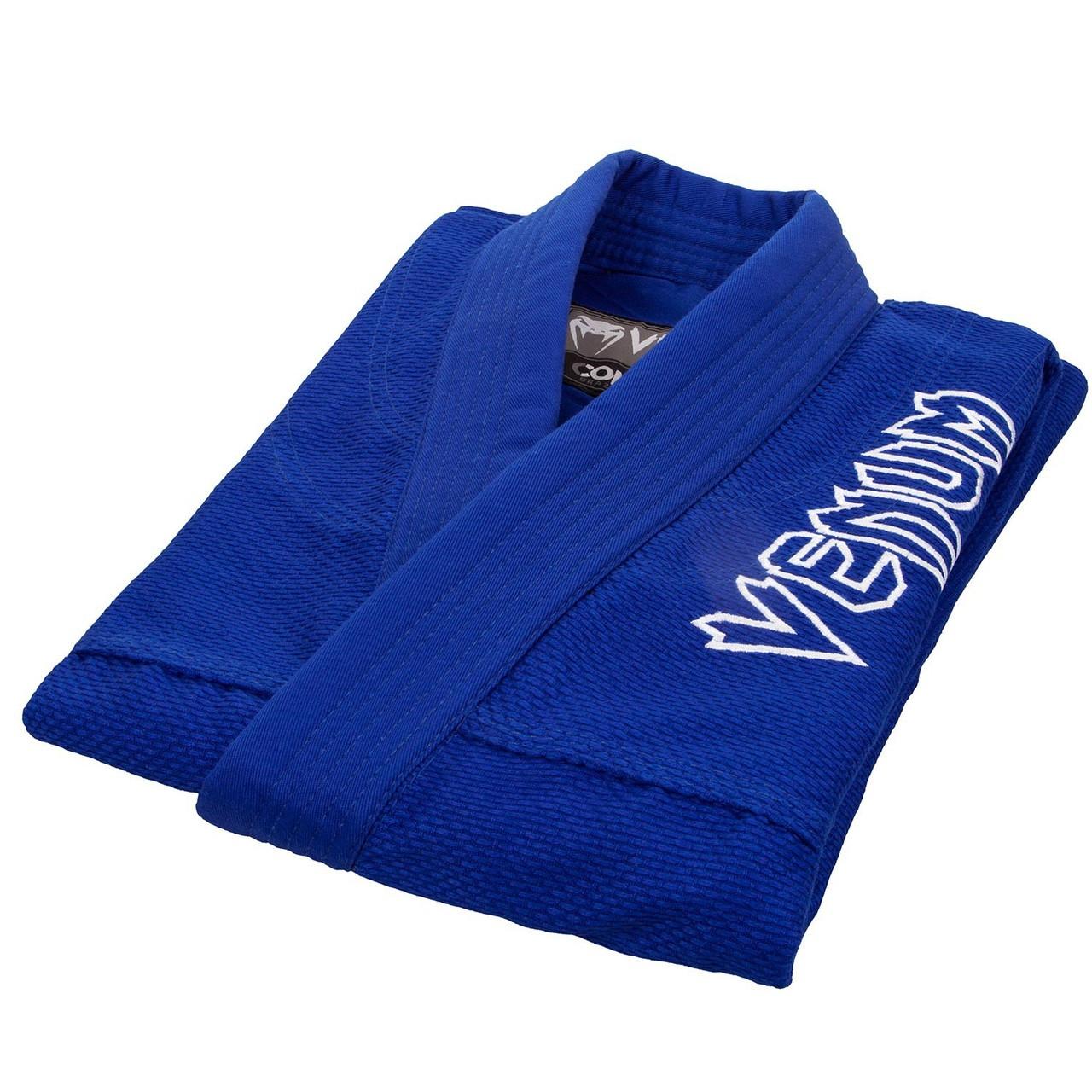 Gi top only Venum Contender 2.0 Blue BJJ GI available at www.thejiujitsushop.com  Enjoy Free Shipping from The Jiu Jitsu Shop today!