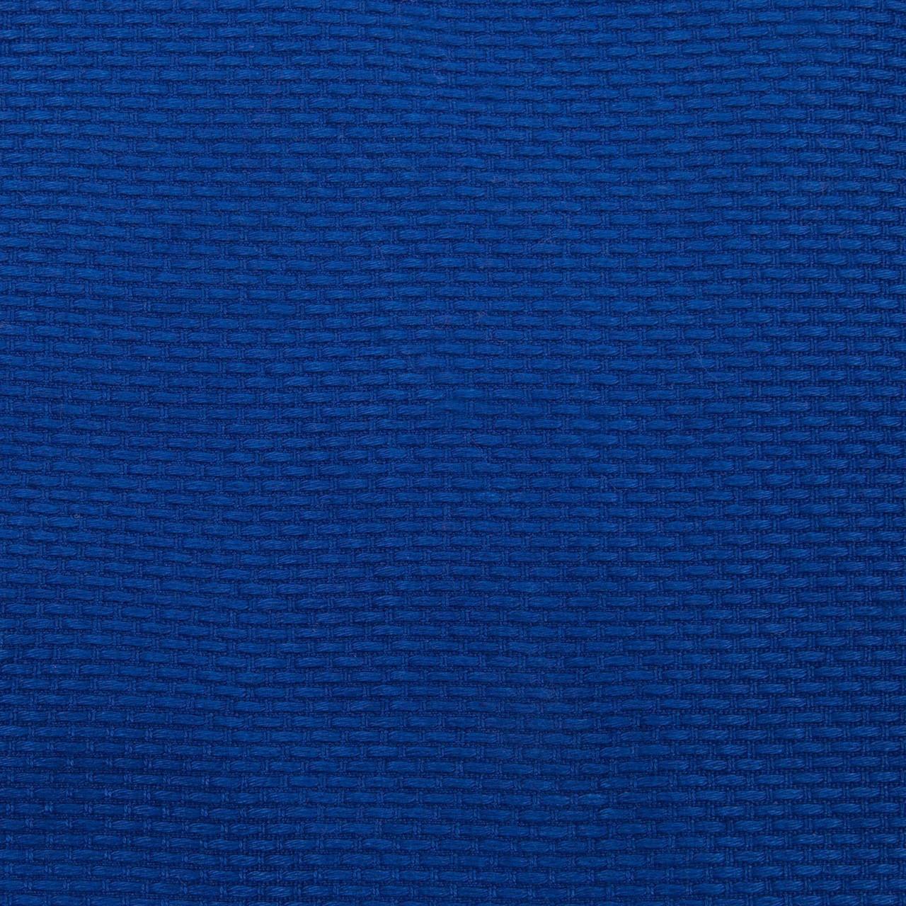 Gi fabric zoom in Venum Contender 2.0 Blue BJJ GI available at www.thejiujitsushop.com  Enjoy Free Shipping from The Jiu Jitsu Shop today!
