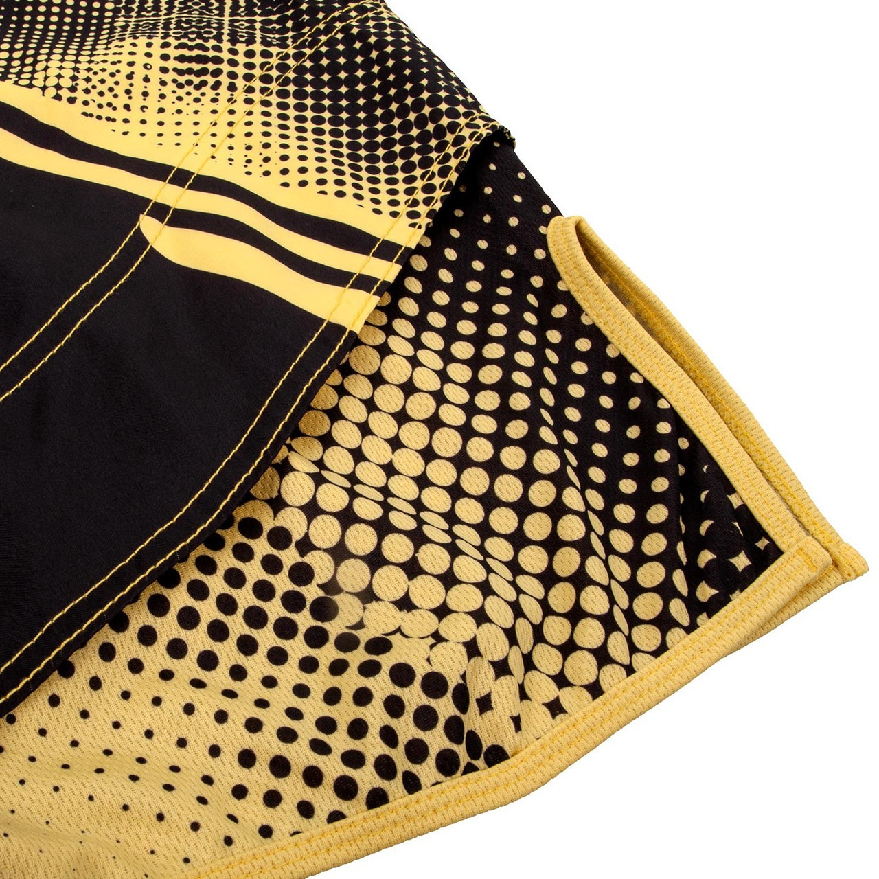 Venum Technical shorts Black and Yellow