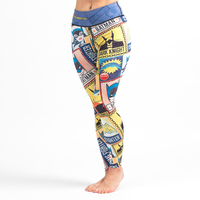 Fusion FG Batman Crime Fighter Women's Leggings available from www.thejiujitsushop.com  Enjoy free Shipping from the Jiu Jitsu Shop today!