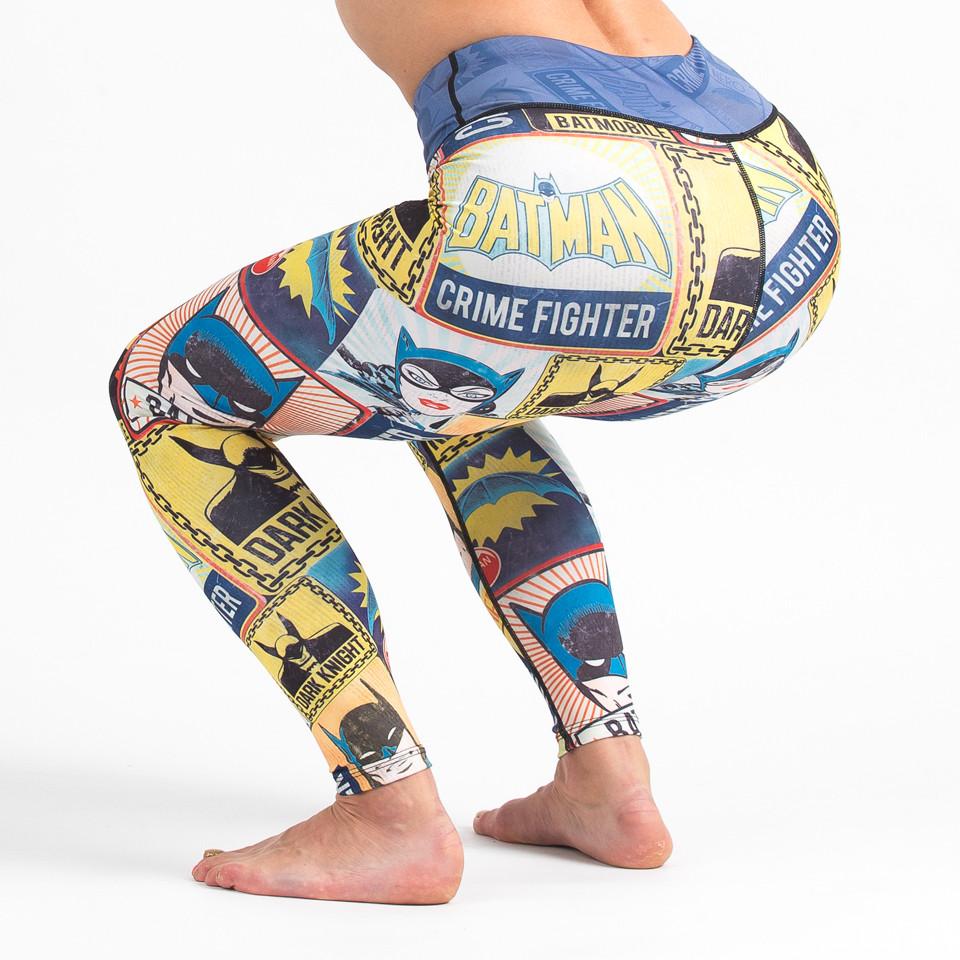 Fusion FG Batman Crime Fighter Women's Leggings available from www.thejiujitsushop.com  Enjoy free Shipping from the Jiu Jitsu Shop today!