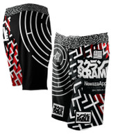 Newaza Apparel X Scramble  Submission Seeker BJJ Shorts.  Available at www.thejiujitsushop.com  Enjoy Free Shipping today!