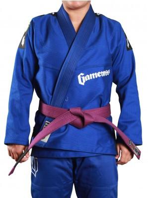 Gameness Pearl Gi Blue now available at www.thejiujitsushop.com  Enjoy Free shipping from The Jiu Jitsu Shop