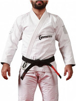 Gameness 2016 Feather Gi.  Availalble in fitted sizes as well.  Now available at www.thejiujitsushop.com  Enjoy Free Shipping from The Jiu Jitsu Shop