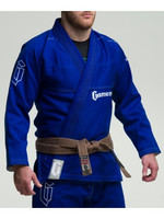 Model view of the Gameness 2016 Feather Gi.  Availalble in fitted sizes as well.  Now available at www.thejiujitsushop.com  Enjoy Free Shipping from The Jiu Jitsu Shop