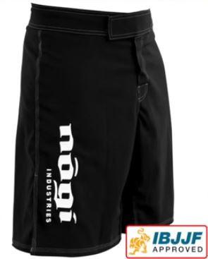 No Gi Industries Black Phantom 2.5 Shorts available at www.thejiujitsushop.com  Enjoy Free Shipping from The Jiu Jitsu Shop today!