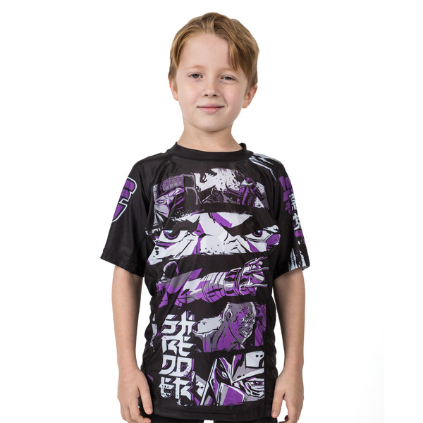 Fusion FG Teenage Mutant Ninja Turtles Shredder Rashguard for Kids.  Available at www.thejiujitsushop.com  Enjoy Free Shipping from The Jiu Jitsu shop today!