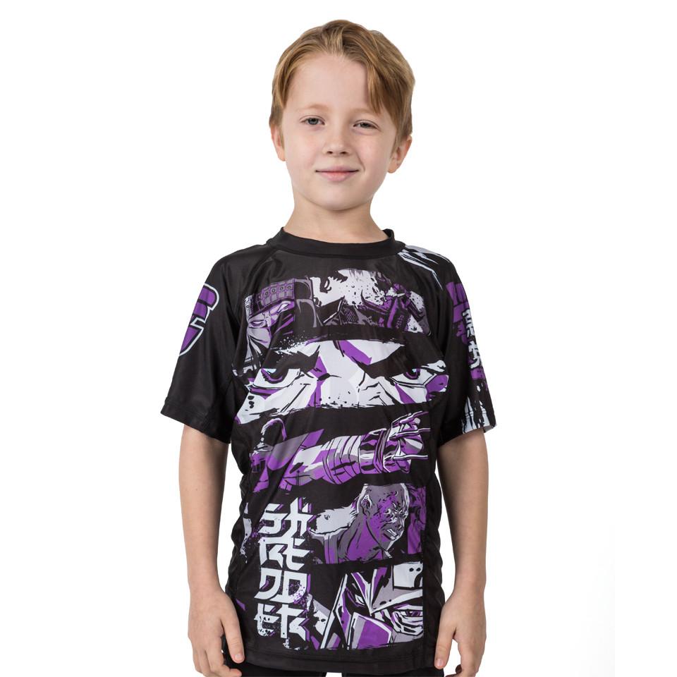 Fusion FG Teenage Mutant Ninja Turtles Shredder Rashguard for Kids.  Available at www.thejiujitsushop.com  Enjoy Free Shipping from The Jiu Jitsu shop today!